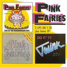 The Pink Fairies - Live At The Roundhouse/Previously Unreleased/Do It EP (CDWIK