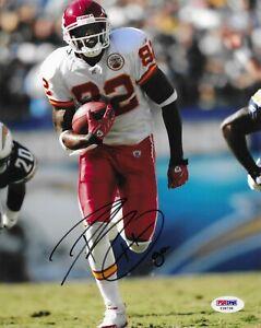 Dwayne Bowe Kansas City Chiefs Signed 8X10 Photo Autographed PSA/DNA COA
