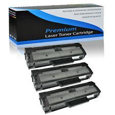 3x Black MLT-D101S Toner Cartridge For Samsung ML-2160 ML-2165 SCX-3401 SF-761P