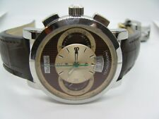 Paul Picot Men's Technograph PP 0334 Chocolate Dial Chrono Automatic Watch