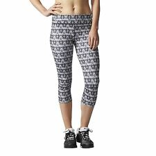 adidas WOMENS SUPERNOVA 3/4 RUNNING TIGHTS CLIMALITE GYM WEAR FITNESS LEGGINGS