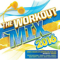Various Artists : The Workout Mix 2016 CD 2 discs ***NEW*** Fast and FREE P & P