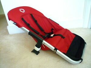 Bugaboo Gecko seat frame & Red Seat Fabric -Very Good Condition