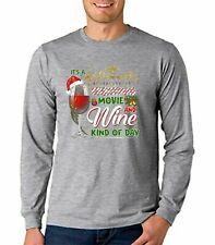 Lets Bake Stuff Drink Wine And Watch Hallmark Christmas Movies Sweatshirt S-3XL