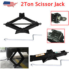 Scissor Lifting Jack 2 Ton for Car Ford Dodge Chevy Truck Repair Tool 3.5-14""