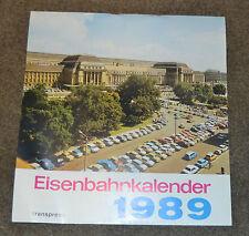 Eisenbahnkalender 1989 - Original DDR