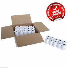 58mm X 40mm Thermal Paper Till Rolls Credit Card PDQ Ingenico IWL 250251 252 Rec