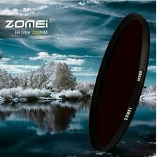 ZOMEI 30.5-82mm IR Filter 720NM X-Ray Infrared Filter F/ Canon Nikon Sony DSLR