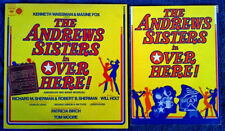 ANDREWS SISTERS - OVER HERE - ORIGINAL CAST - COLUMBIA LP + 1974 PROGRAM