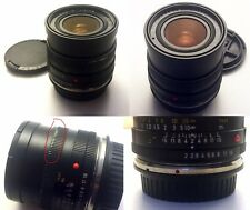 Leica Leitz Summicron-R 35 mm objectif F2 R Mount + Leitax EF Mount Made in Germany