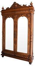Armoire noyer style Renaissance travail français d'époque fin XIXème
