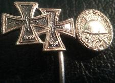 ✚6374✚ German post WW2 1957 pattern Iron Cross Wound Badge miniature stickpin