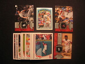 2013 TOPPS #1 ST LOUIS CARDINALS TEAM SET 22 CARDS  STAN MUSIAL HISTORY INSERT +