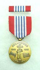 US World War 2, Hollywood at War Commemorative Medal, set of 2