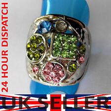 Modeschmuck-Ringe mit Kristall-Hauptstein für Herren