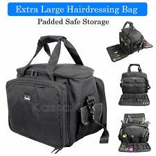 Extra Large Mobile Hairdressing Equipment Bag Paded Safe Storage Session Kit Bag