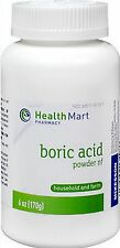 HM BORIC ACID POWDER 6 OZ - PHARMACY FRESH STOCK