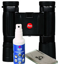 LEICA FERNGLAS TRINOVID 10X25 BCA (NEUES MODELL)+Reinigungsset B&W inkl.Tasche