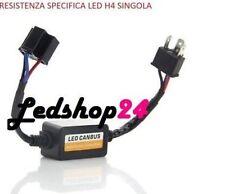 Digital Led Warning Resistenza Filtro Canbus H4 40W 12V Biluce Lampada H4 Led**