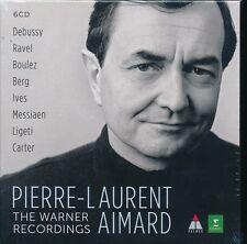 Pierre-Laurent Aimard Warner Recordings CD NEW box set Debussy Ravel Messiaen Li