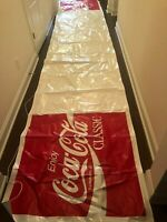 Coke Coca Cola From Dealer promo store tapestry 20 ft long