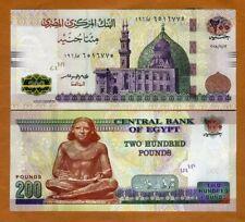 Egypt, 200 Pounds, 2018, P-New, UNC