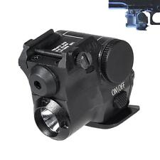 Tactical  Green Dot Laser Sight Scope w/ LED Flashlight Combo Fit for 20mm Rail