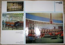 PGH Kühlanlagenbau Kühldienst Berlin Prospekt Spezialkühlmöbel DDR 1969