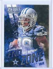 "2014 SCORE #DE9 DEZ BRYANT ""DESTINATION END ZONE"" - DALLAS COWBOYS 092214"