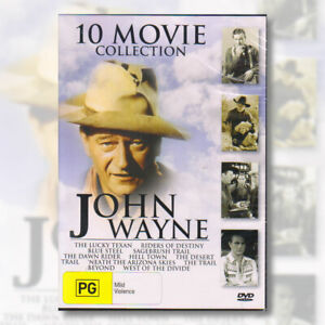 John Wayne 10 Movie Collection DVD Region Free | NEW