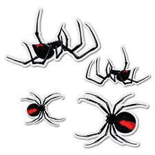4x Redback Spider Sticker Aussie Car Flag 4x4 Funny Ute