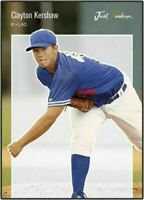 "CLAYTON KERSHAW 2006 JUST ROOKIES ""1ST EVER PRINTED"" ROOKIE CARD! 3X CY YOUNG!"
