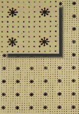 Stars & Dots Trunk Liner Chest Steamer antique furniture restore inside paper ol