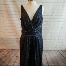 Sorella Vita Bridesmaid Mother Of The Bride Dress Sequin Navy Wedding