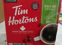 72 COUNT KEURIG K-CUPS TIM HORTONS DECAFE MEDIUM ROAST COFFEE
