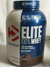Dymatize ELITE 100% WHEY PROTEIN 5 lbs Rich Chocolate 5Lb