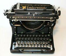 Antique 1920s UNDERWOOD Standard #11 TYPEWRITER, Vintage, Clean, Works