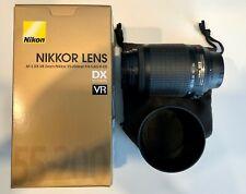 Nikon Nikkor 55-200mm f/4.0-5.6 AF-S DX G ED Lens with UV Filter