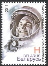 Belarus 2011 Yuri Gagarin/Astronauts/Cosmonauts/Space Flight/People 1v (n32046)