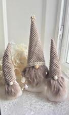 3 Christmas Tomte Scandinavian Gnome Christmas home decoration Nisse Handmade