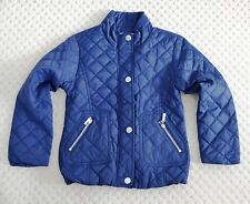 New Baby Band Premium Girls Padded Quilted Light Weight Jacket Coat Blue 8 Yrs