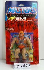 MOTU, He-Man, Hard Head Malaysia, Masters of the Universe, MOC, carded, figure