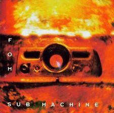 """FOM """"SubMachine"""" Rare 1993 11Track CD """"Bovine,ClubMe,America,LaidBack"""""""