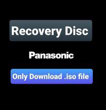 UK Panasonic Toughbook CF-19 MK3 Win 7 RECOVERY FACTORY RESET Disc, Download