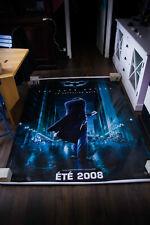 "BATMAN DARK KNIGHT RARE JOKER 59"" x 98"" D/S Vinyl Banner Poster Original 2008"