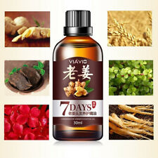 1Pc 30ML 7 Days Ginger Germinal Serum Essence Oil Loss Treatment Growth Hair