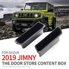 Door handle storage box for Suzuki Jimny 2019 2020 front door Accessories Holder