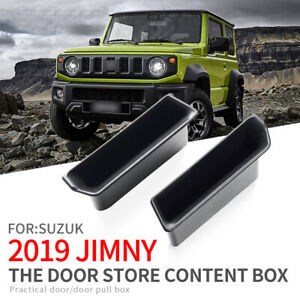 Door handle storage box for Suzuki Jimny 2019 2020 front door Accessories Holder