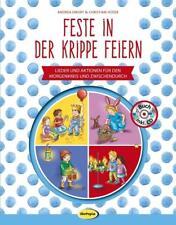Feste in der Krippe feiern (Buch inkl. CD) von Christian Hüser und Andrea Erkert (2018, Taschenbuch)