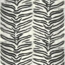 Muriva Tiger Estampado imitación efecto de los animales de piel textura del papel Pintado Blanco